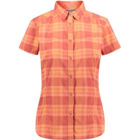 Meru Thiva Naiset Lyhythihainen paita , oranssi